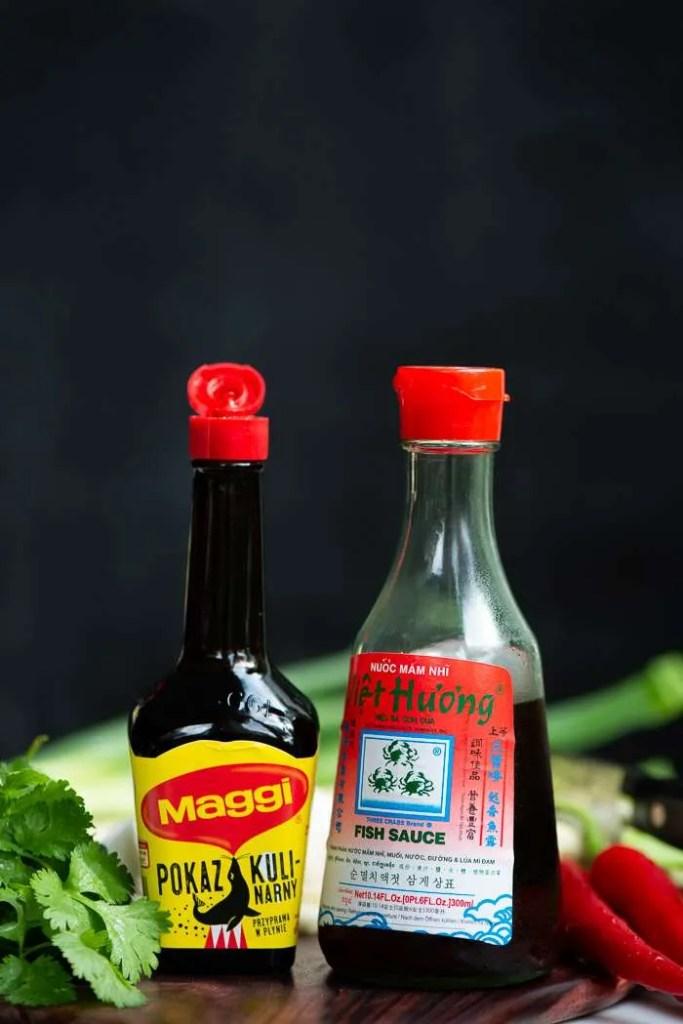 Maggi og vietnamesisk fish sauce