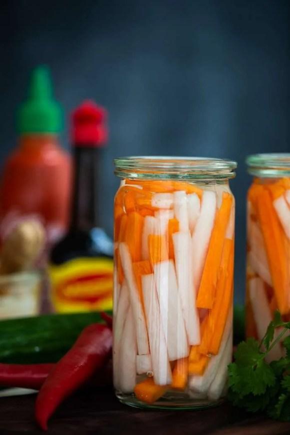 Opskrift på Vietnamesiske pickles