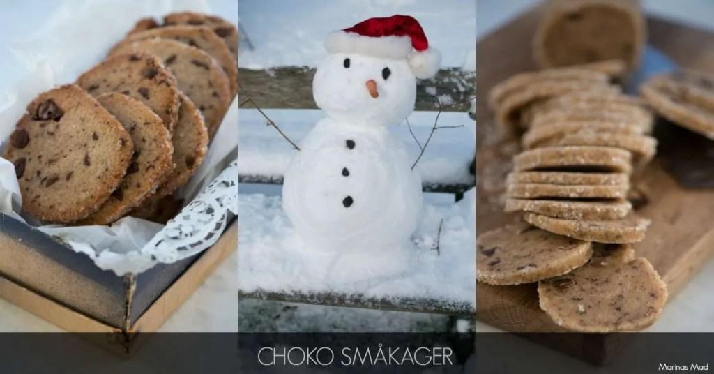 Opskrift på choko julesmåkager