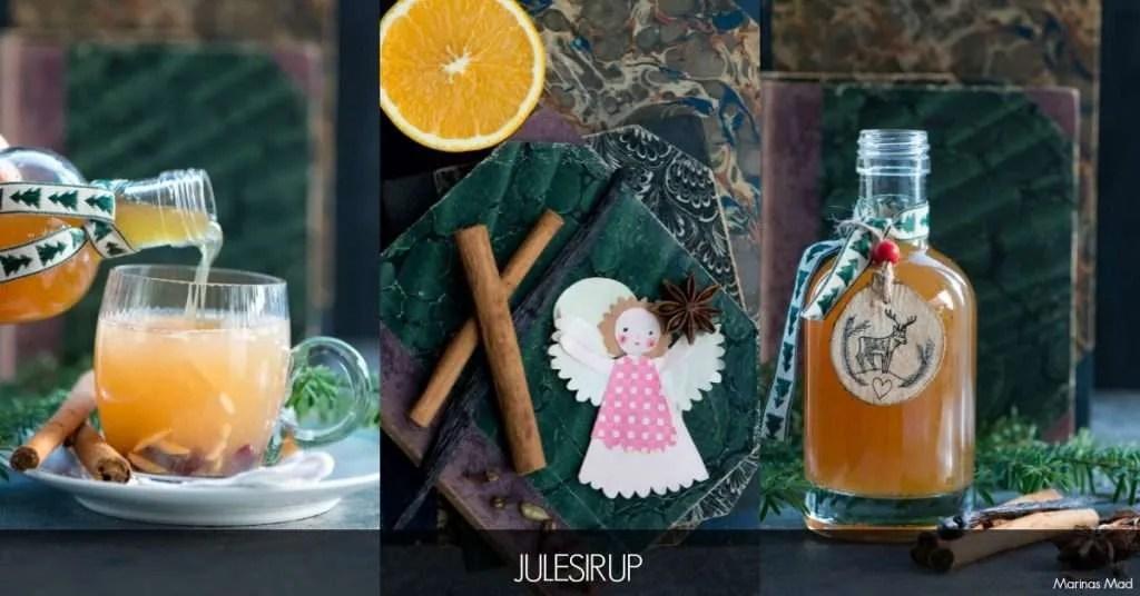 Julens bedste sirup med vanilje og appelsin