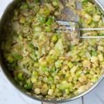 stegte grøntsager til frittata