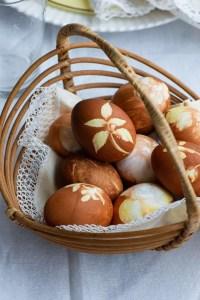 Hårdkogte æg til påskebordet