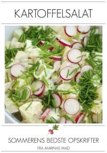 Opskrift på den bedste kartoffelsalat