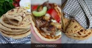Opskrift på græske pitabrød