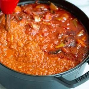 Tomatsovsen blendes glat
