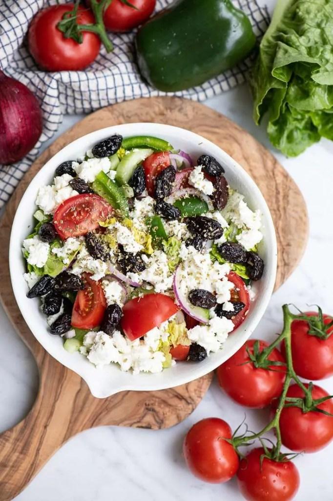 Den græsk inspirerede salat