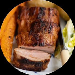 Opskrift på grillet svinemørbrad i barbecue marinade
