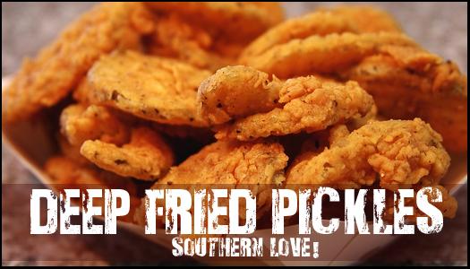 Alton brown fried pickles