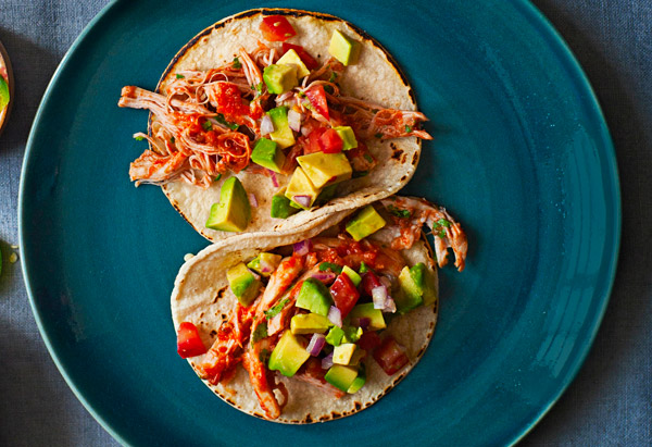 Braised Chicken Taco's Recipe