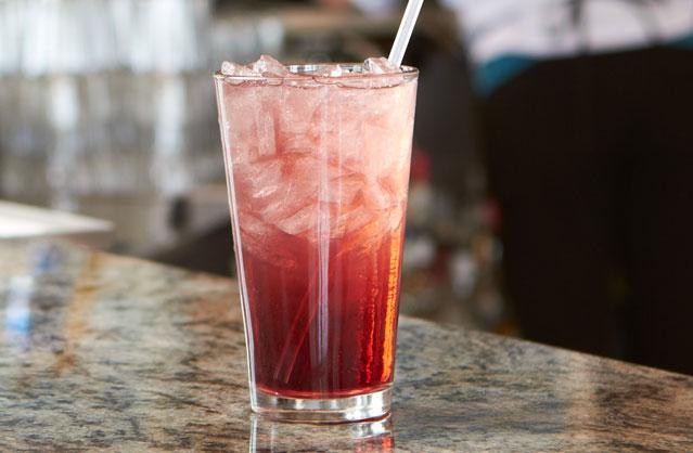 Cherry Blossom Iced Tea