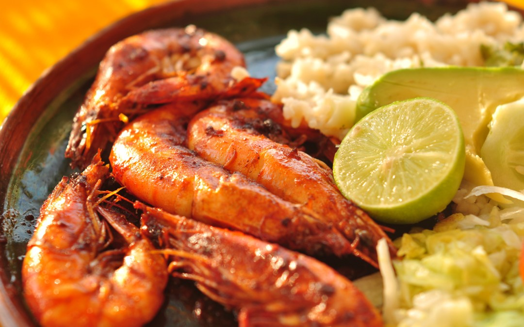 Delicious Spicy Baked Shrimp