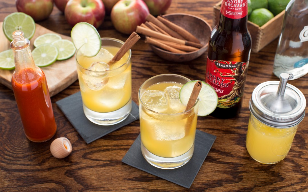 Angry Orchard's – Hot & Angry Cocktail