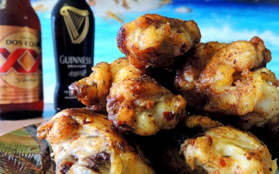 Adobo Grilled Chicken Wings