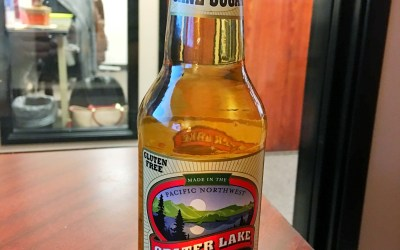 Crater Lake Soda's Apple Ginger Beer