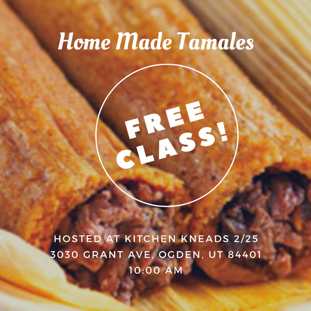 Free Tamale Class