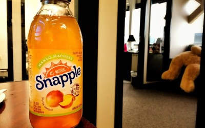 Caffeinated Mormon's Review of Snapple Mango Madness