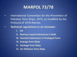 Marpol 73 and 78