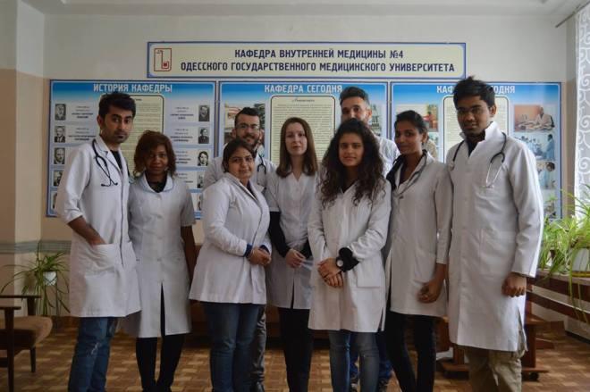 Medical students 2015