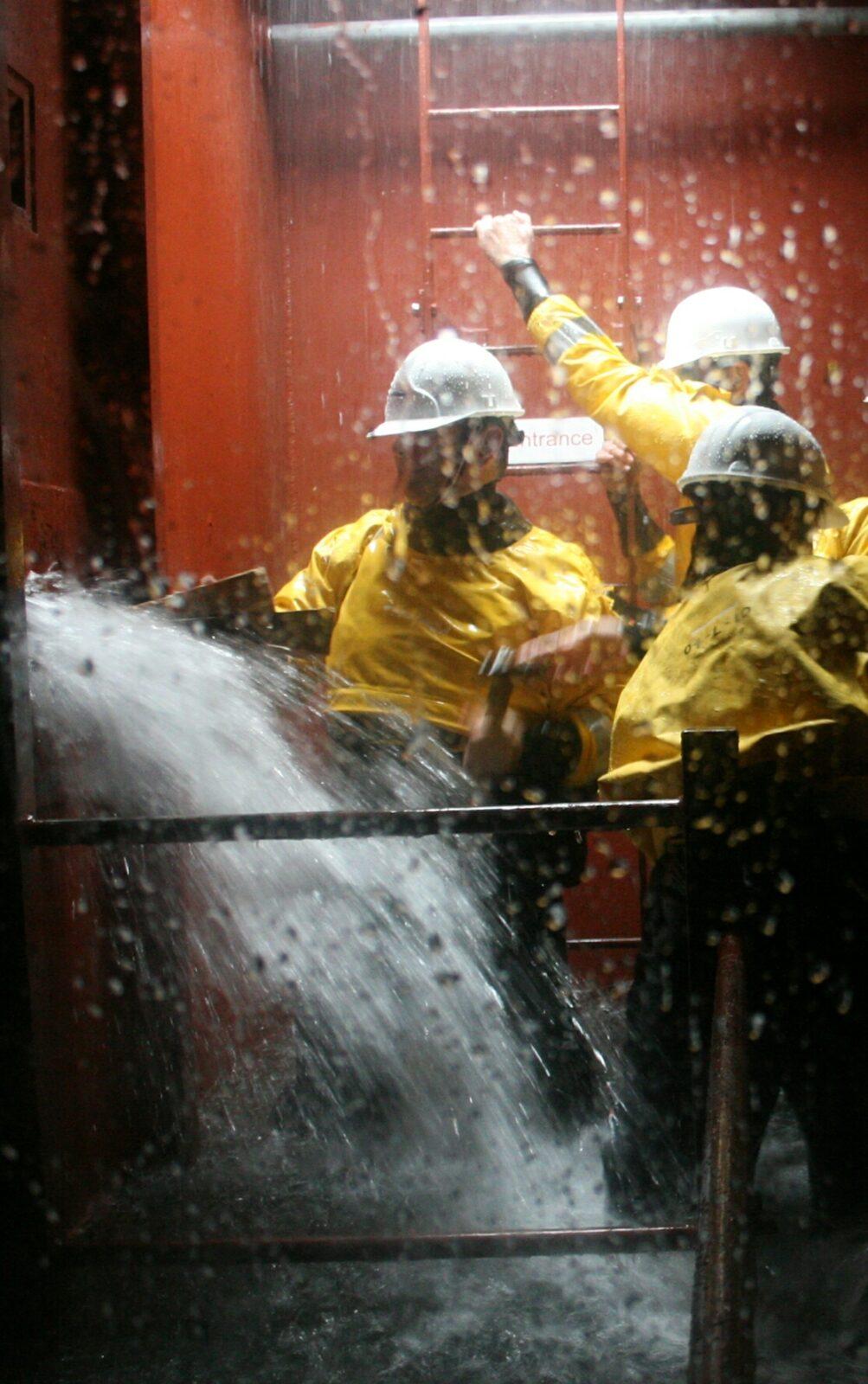 flood incident : Ship water ingress