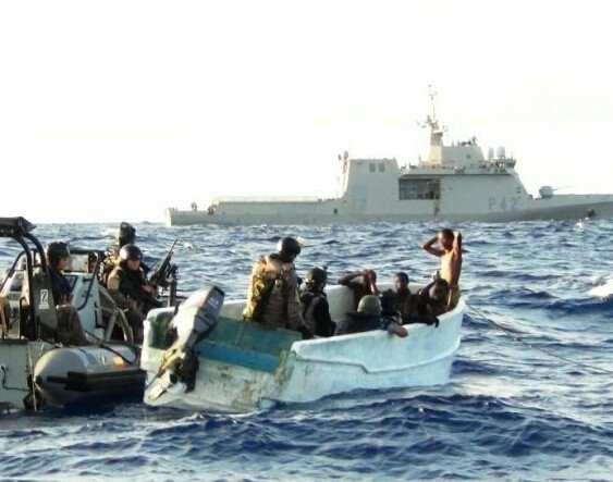 Pirates attacked vessel and kidnapped five crews