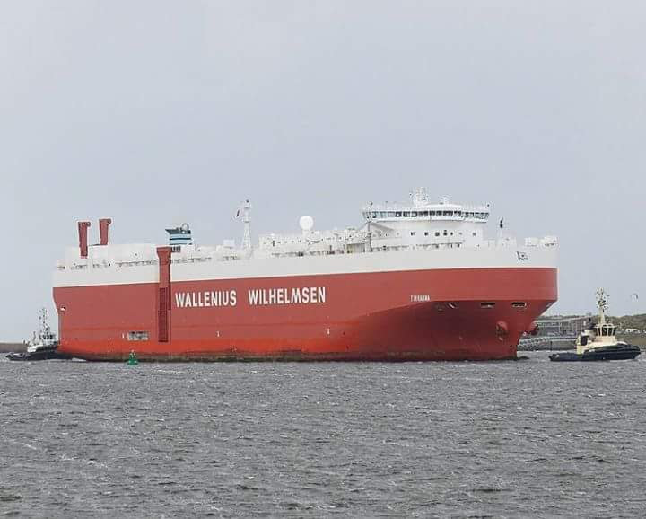 Ship channel navigation - Wallenus Wilhemsen