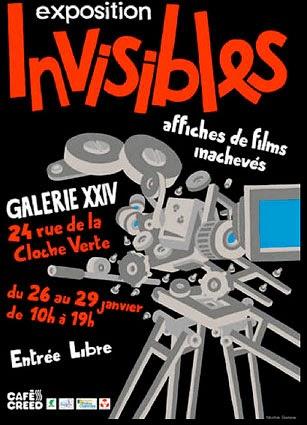 Read more about the article INVISIBLES, Affiches de films inachevés