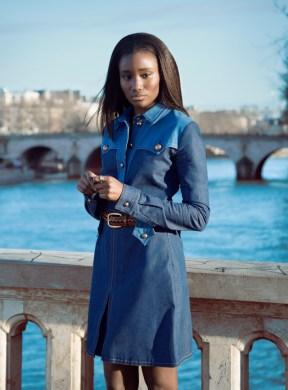 Karidja Touré for Teen Vogue by Bruno Werzinski