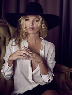 Kate Moss for Elle by Sonia Sieff