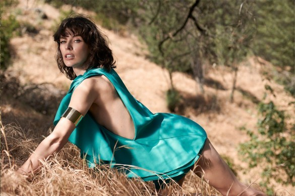 Milla Jovovich for Elle by Eric Guillemain