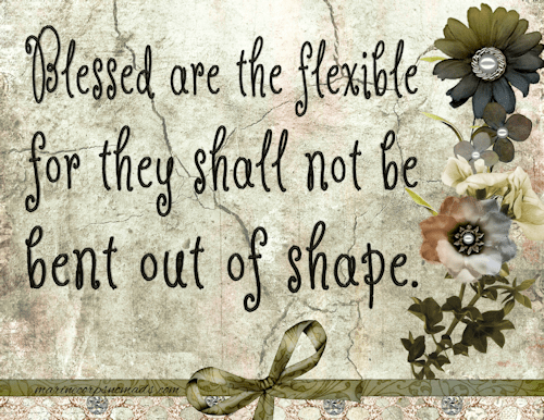 Blessed are the Flexible - Marine Corps Nomads
