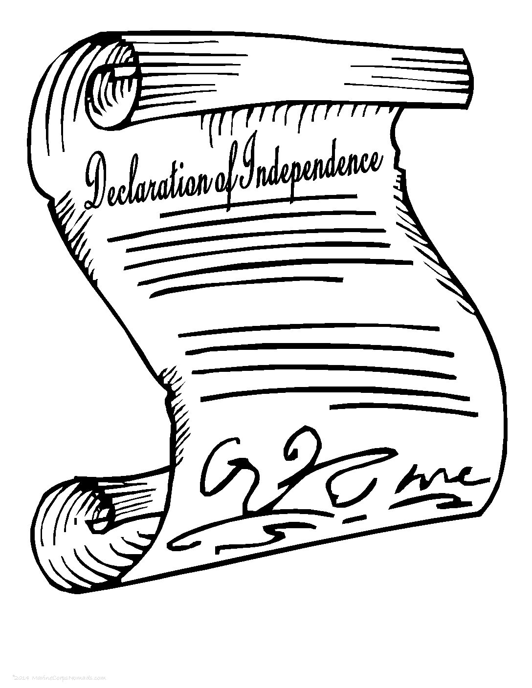 Declaration Of Independence Notebooking Pages
