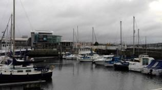 The Aquarium right next to the harbour