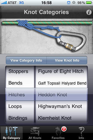 knots - iPhone Knot Guide