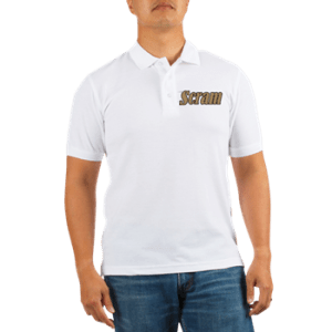 Men's Golf Shirt with boat name
