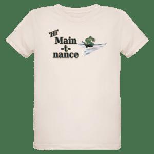 Organic Kids Shirt with boat name