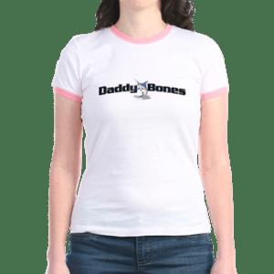 womens jr ringer t with boat name - Women's Jr. Ringer T-Shirt