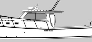 newrumlinedetail 300x139 - Have your boat's portait drawn.