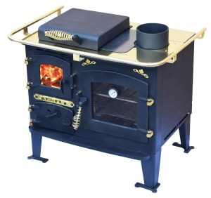 Bubble Solid Fuel Range Cooker - Bubble Back Cabin Cooker