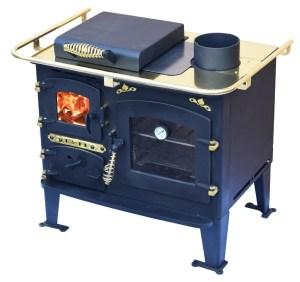Bubble Solid Fuel Range Cooker -Bubble Back Cabin Cooker