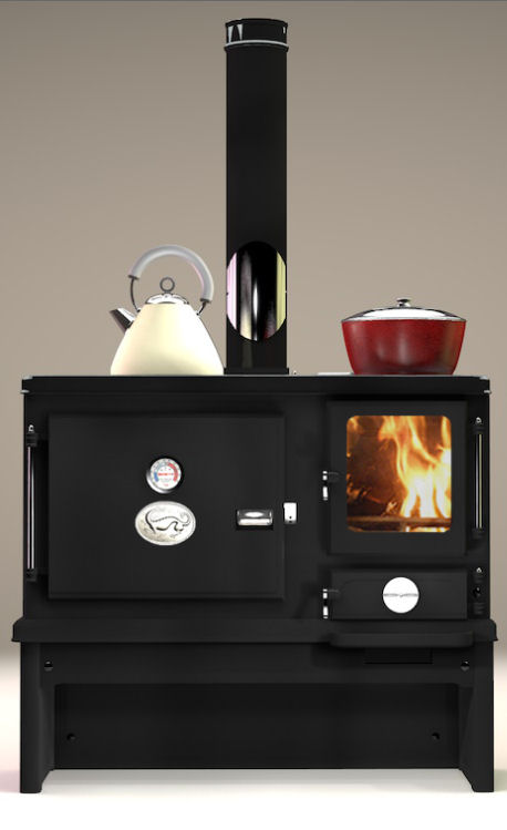 Solid Fuel Stove Prices - The Little Range Stove- Salamander Stoves and Cooking Ranges