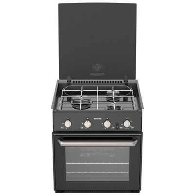 TRIPLEX LPG OVEN AND GRILL BLACK