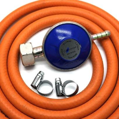 Changing Your LPG Bottle Gas Regulator And Hose - Butane