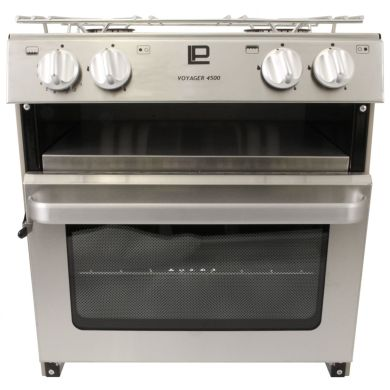 VOYAGER 4500 DELUXE COOKER - STAINLESS STEEL