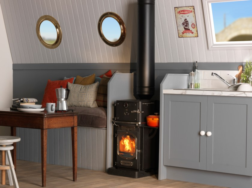Go Eco Aventurer Stove - With Fitted Heatshield