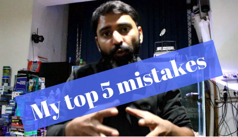 my top five mistakes