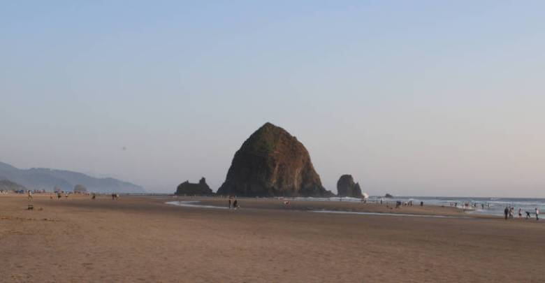 Haystack Rock Oregon Coast