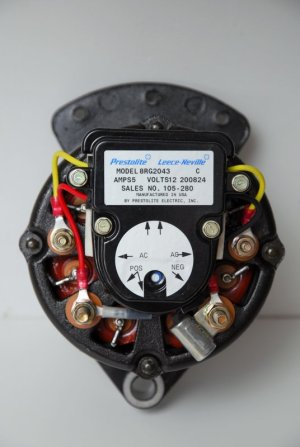 External Regulation Conversion – LeeceNeville 8MR Alternator – Marine How To