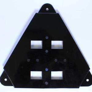 Marine Leash Wall Flat-Bracket