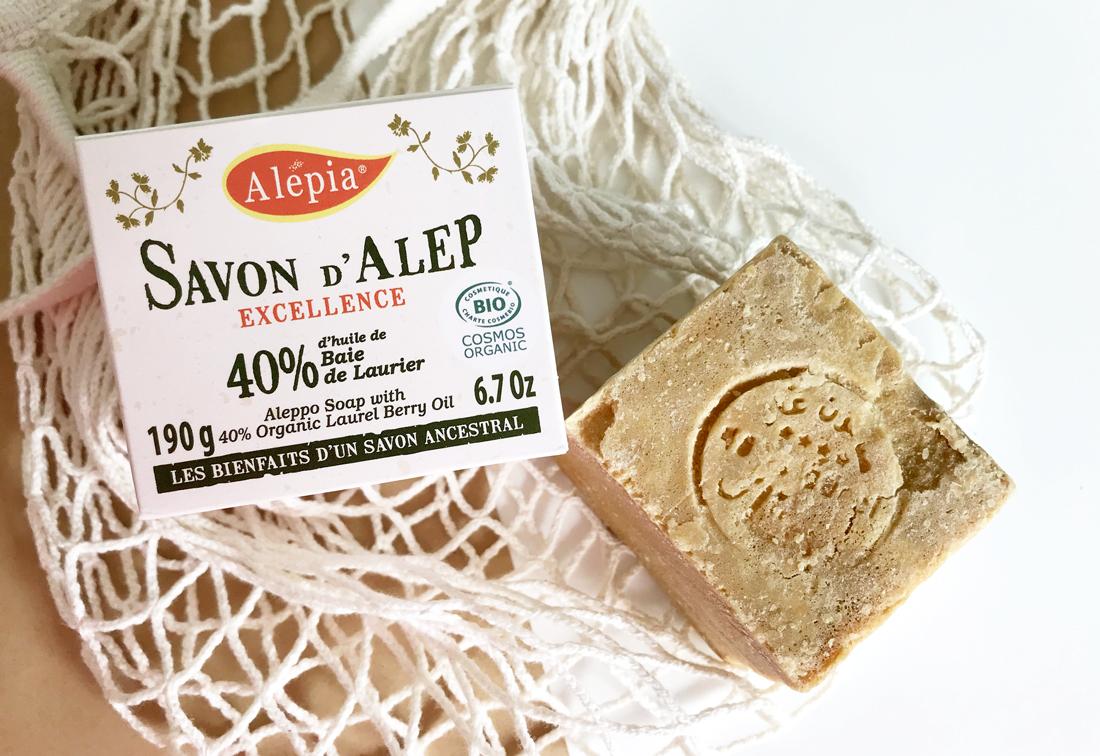 Savon d'alep bio excellence 40% laurier de chez Alepia