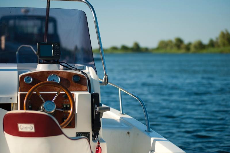 Marine pro, båt på vann
